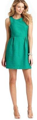 LOFT Tall Sleeveless Cotton Linen Dress