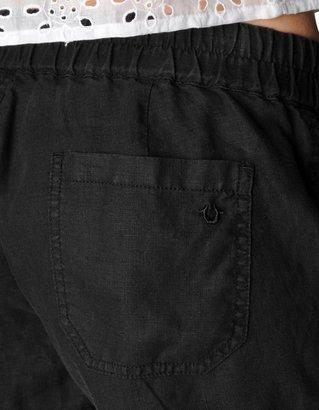True Religion Cargo Womens Linen Short