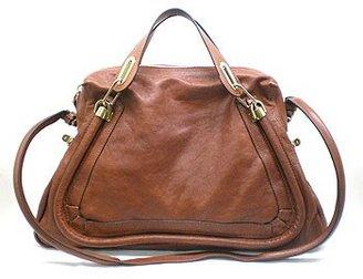 "Chloé Paraty Large - 8HS890"" Nutmeg Handbag"