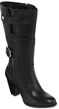 JCPenney Liz & Co.® Griffin Buckle Boots