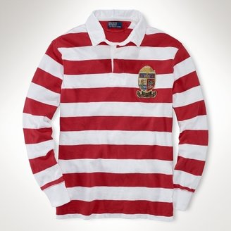Polo Ralph Lauren Big & Tall Classic Striped Crest Rugby