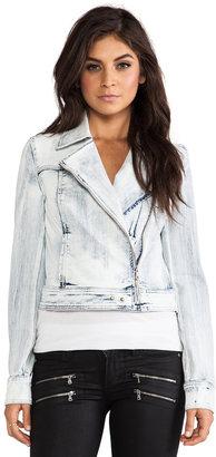 Paige Brooklyn Denim Moto Jacket