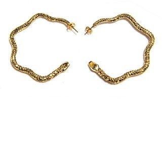 Aurelie Bidermann Tao hoop earrings