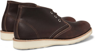 Red Wing Shoes Chukka Rubber-Soled Leather Boots