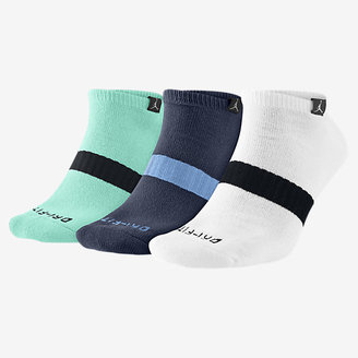 Nike Jordan Dri-FIT No-Show Basketball Socks (Large/3 Pair)