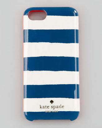 Kate Spade colorblock stripe iPhone 5 case