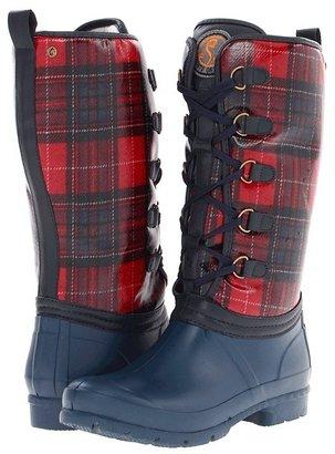 Sporto Sparta (Red/Navy Plaid) - Footwear