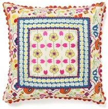 Anthropologie Garden Party Pillow, Pansy