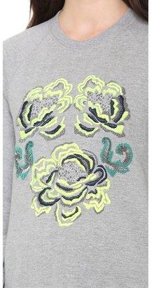 Matthew Williamson Embroidered Sweatshirt
