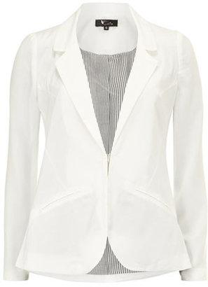 Dorothy Perkins White pocket detail blazer