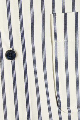 Marc by Marc Jacobs Baron striped cotton shirt