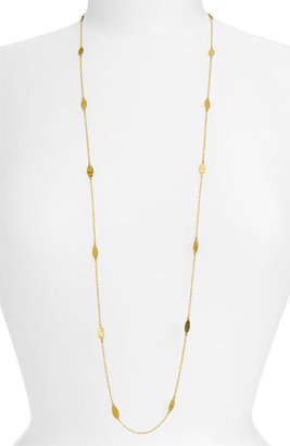 Gurhan 'Willow' Long Leaf Necklace