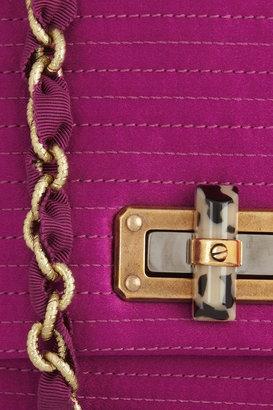 Lanvin The Mini Pop quilted satin shoulder bag