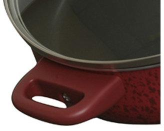 Paula Deen 5-qt. Nonstick Signature Porcelain Saute Pan, Red