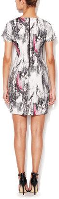 Rachel Roy Marble Print Sheath Dress