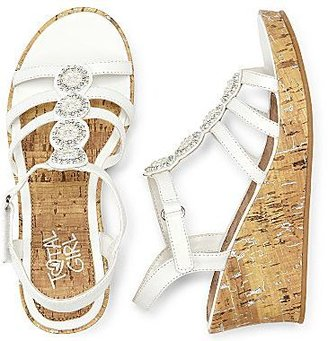 JCPenney Total Girl® Marcy Girls Wedge Sandals