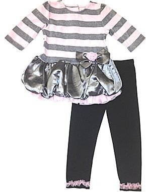 Little Lass 3-pc. Tutu Legging Set – Girls newborn-24m