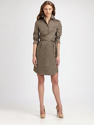 Akris Punto Waist Wrap Dress