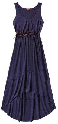 Merona Women's Hi-Lo Hem Maxi Dress w/Belt - Assorted Colors