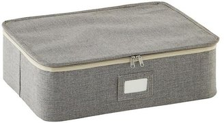 Container Store Cup/Mug Storage Case Brown Twill