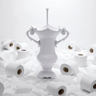 Seletti WC Royale White Toilet Brush