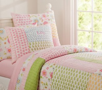 Pottery Barn Kids Lily Quilted Bedding