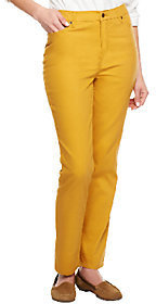 Liz Claiborne New York Regular Hepburn Slim Leg Colored Jeans $13.77 thestylecure.com