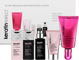 KeratinPerfect 30-Day Brazilian Hair Smoothing System Essentials Collection