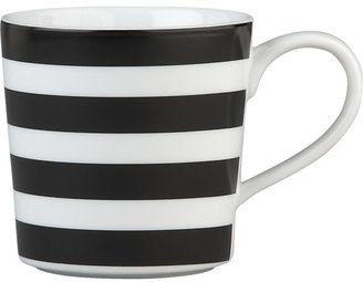 Crate & Barrel Graphic Stripes Mug