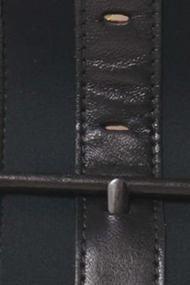 3.1 Phillip Lim Nashiki Wide Belt in Black