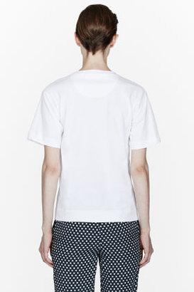 Marni EDITION White Romino Quiros print T-Shirt