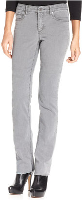 Jones New York Signature Petites Petite Jeans, Lexington Straight-Leg Signature Bling