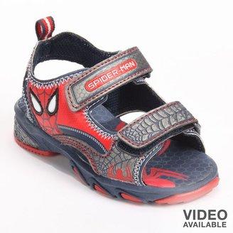Spiderman sandals - toddler boys