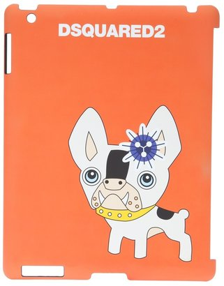 DSquared Dsquared2 printed bulldog iPad case