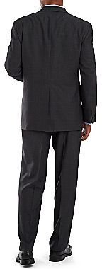 JCPenney Stafford® Essentials Plaid Suit Jacket - Portly