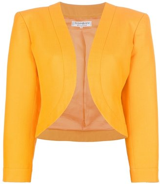 Yves Saint Laurent Vintage cropped jacket