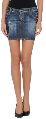 DSquared DSQUARED2 Denim skirt