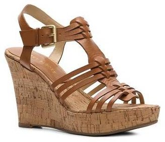 Audrey Brooke Carina Wedge Sandal