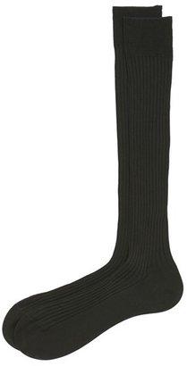Men's Pantherella Cotton Lisle Blend Over The Calf Socks $30 thestylecure.com