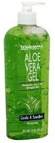 Walgreens Aloe Vera Replenishing Body Gel
