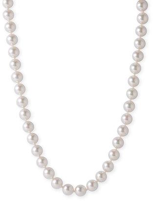 Majorica White Faux Pearl Necklace