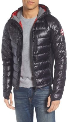 Men's Canada Goose 'Hybridge(TM) Lite Hoody' Slim Fit Packable Jacket $575 thestylecure.com