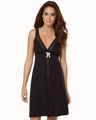 Belabumbum Nursing Sleep Chemise Black