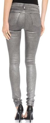 J Brand 624 Stacked Super Skinny Stocking Jeans