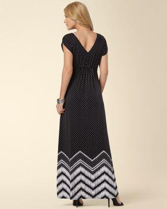 Soma Intimates Smocked Waist Maxi Dress