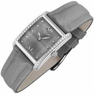 Raymond Weil Don Giovanni - Diamond Frame & Satin Gray Band Dress Watch