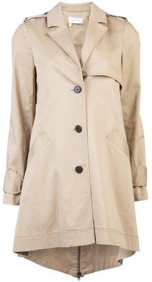 Derek Lam 10 Crosby By Cape trench coat