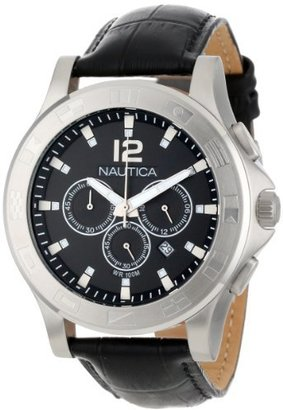 Nautica Unisex N21548G NCS 801 Classic Analog with Enamel Bezel Watch $93.99 thestylecure.com