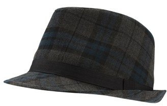 Ben Sherman Plaid Trilby