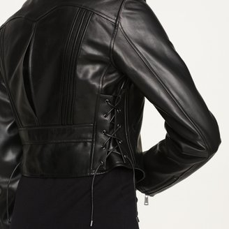 Ralph Lauren Black Label Leather Kayden Jacket